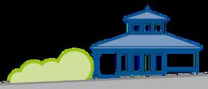 Pavillon + Strasse Kopie